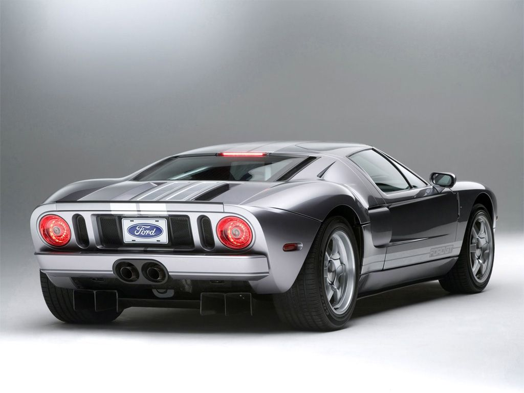 Back Of Fordgt40 Ford Sports Cars Ford Sport Ford Gt
