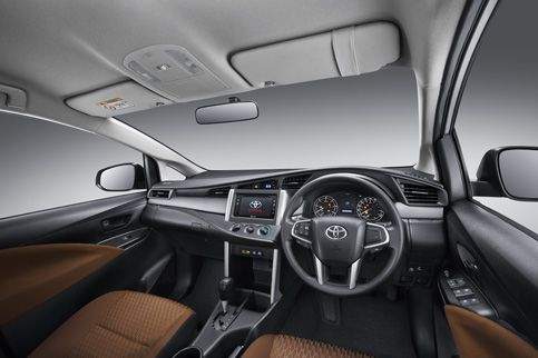 All New Kijang Innova Tipe G Toyota Camry India Type Interior 4