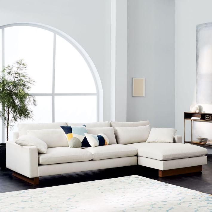 Best Harmony 2 Piece Chaise Sectional Apartment Interior 400 x 300