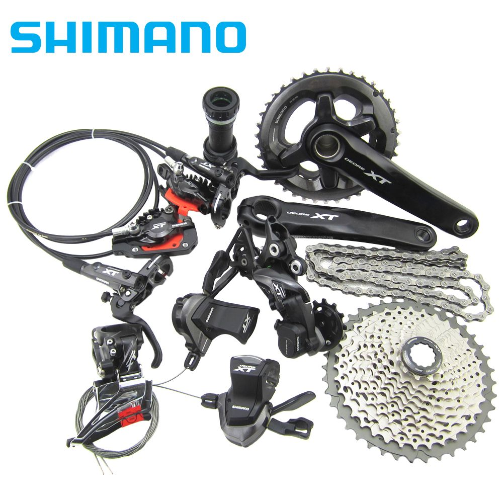 Shimano Xt Drivetrain M8000 Group Set Price Us 469 17 Free