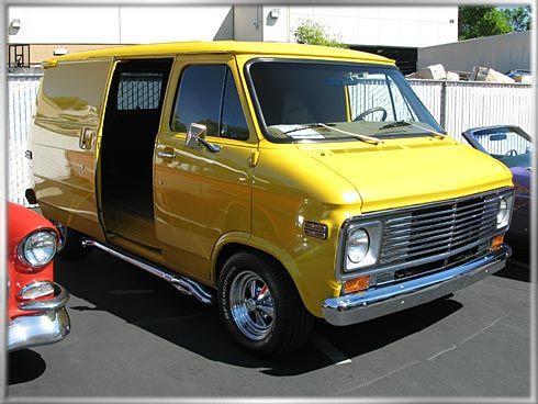 Yellow 1977 Chevy Van Google Search Chevy Van Custom Vans Gmc Vans