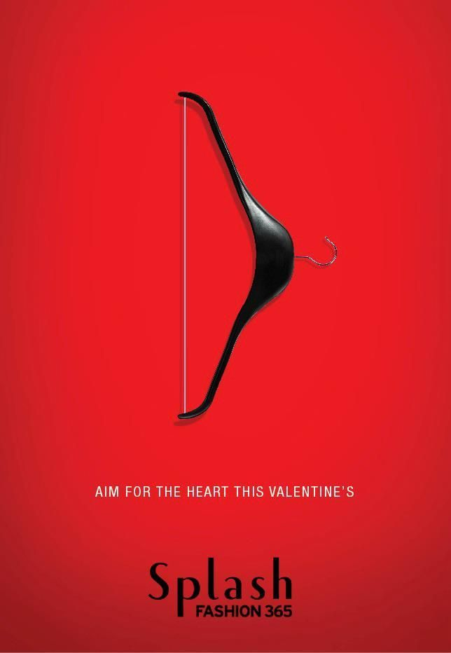 Splash Fashion Valentine S Day Ad On Behance 设计 Pinterest