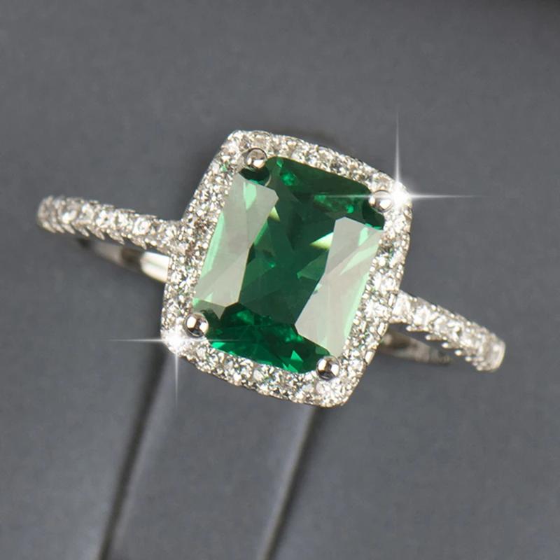 Emerald Green Wedding Ring Mypic Asia Di 2020 Bling Opal Band