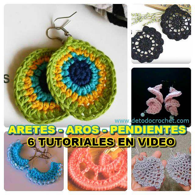 b42fb59a613e como tejer aros al crochet paso a paso en video Patrones Para Joyas De  Ganchillo