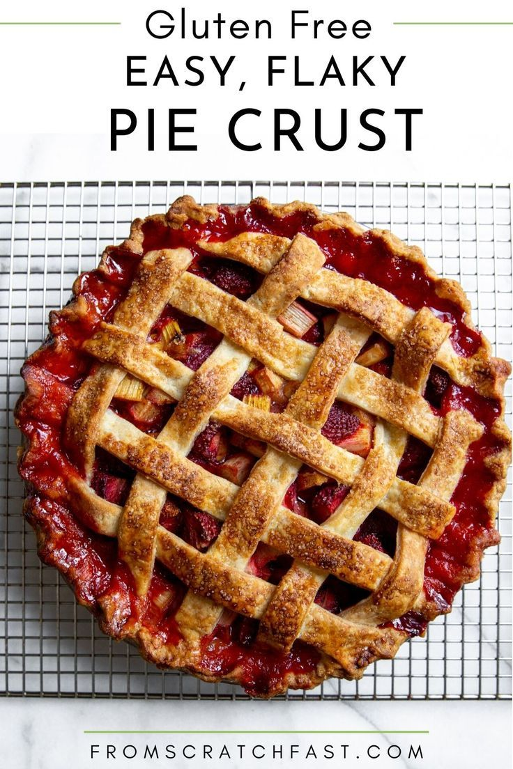 Easy gluten free pie crust the best crust recipe