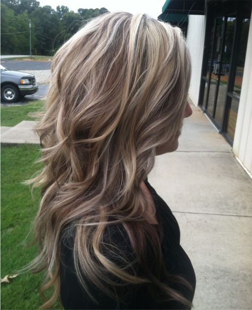 35++ Long layered haircuts with blonde highlights inspirations