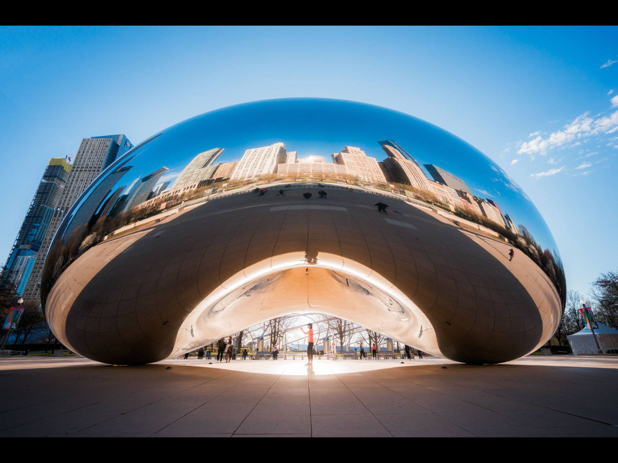 Pin by Eileenr on Angela B Pan Cloud gate, Chicago photos