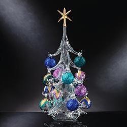 Jewel Tone Venetian Blown-Glass Tree in Holiday 2012 from Uno Alla Volta on shop.CatalogSpree.com, my personal digital mall.