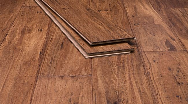 Malted Ale Strand Woven Eucalyptus Flooring | Ambient Bamboo