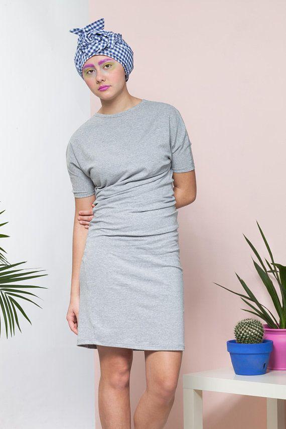 Womens T Shirt dress pattern, PDF sewing pattern Mildred DressStyle ...