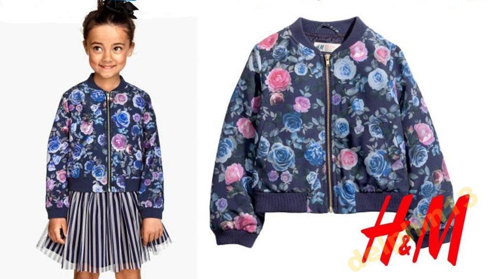 H M Kurtka Kwiaty 6 7 L 122 J Nowa 5775045099 Oficjalne Archiwum Allegro Women S Top Kimono Top Fashion