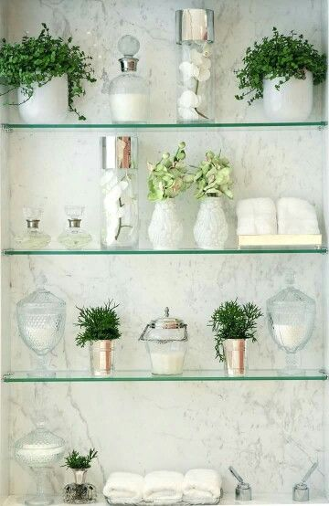 Bathroom Green Idea Glas Badezimmer