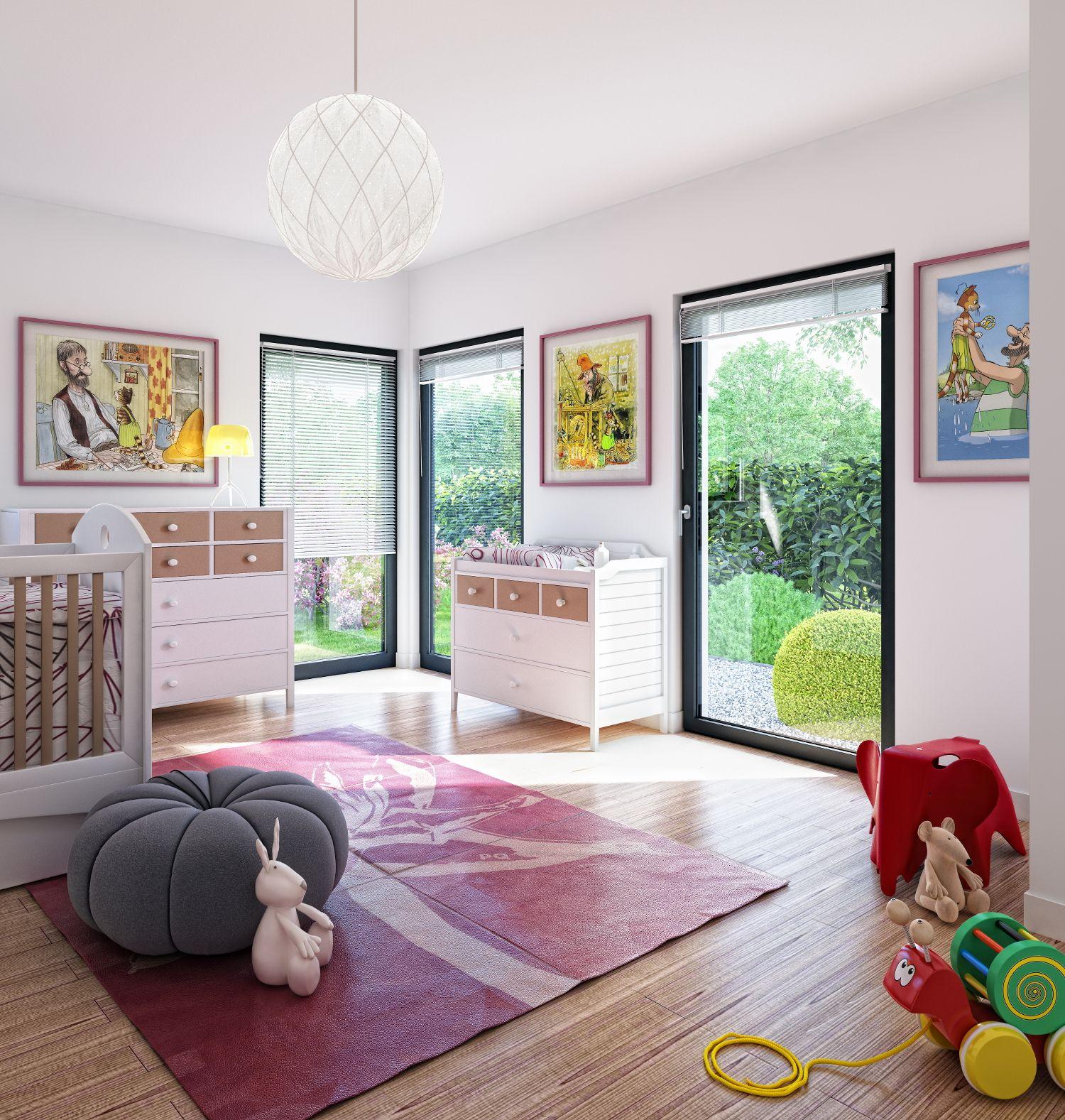 Vom Kinderzimmer in den Garten - davon träumen wohl viele Kinder ...