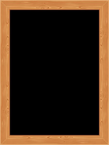 Transparent Classic Wooden Frame PNG Image | FRAMES | Pinterest