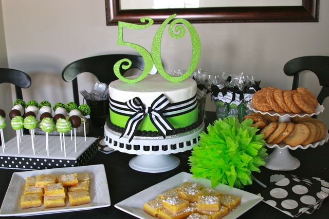 50th Birthday Party Ideas With Images 50th Birthday