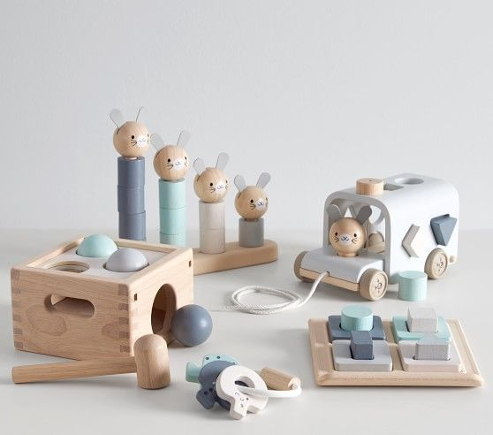 Plan Toys x pbk Bunny Stacker
