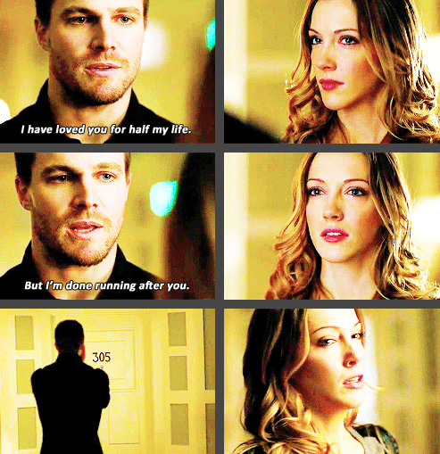 Arrow - Oliver & Laurel #2 14 #Season2 - one of my favorite scenes