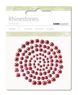 KaiserCraft rhinestones--LOVE!!!
