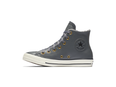 Nike Converse Chuck Taylor All Star Cuir And Faux Fur