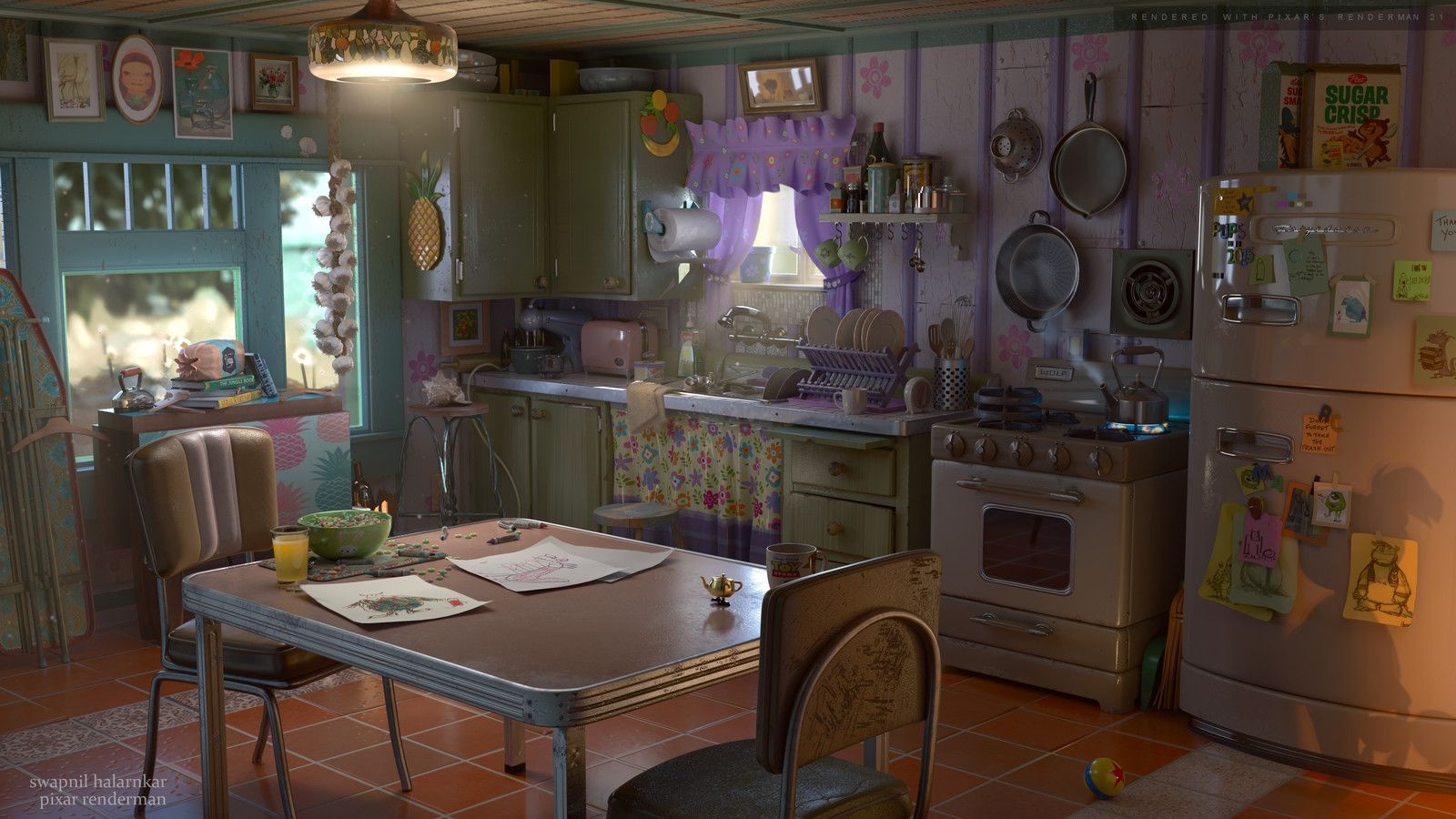 Pixar Lighting Challenge Swapnil Halarnkar On Artstation At Https