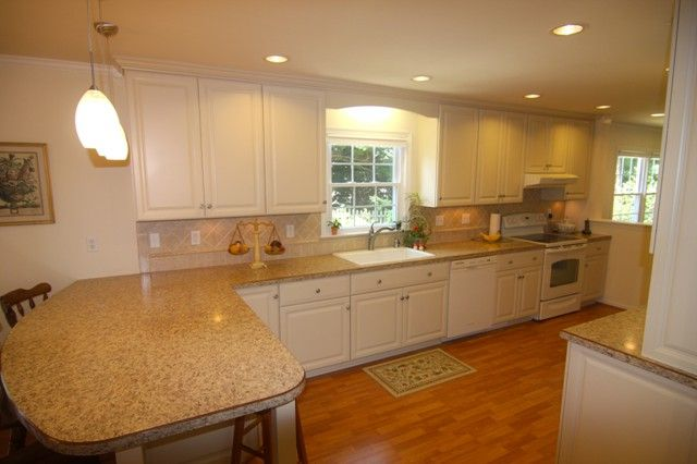 White Kitchen Remodel in Poquoson, Virginia by Criner ...