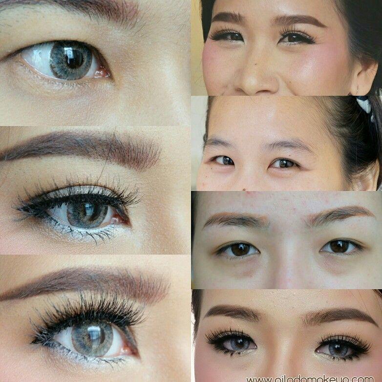 My job eye makeup by piladamakeup แต่งหน้า