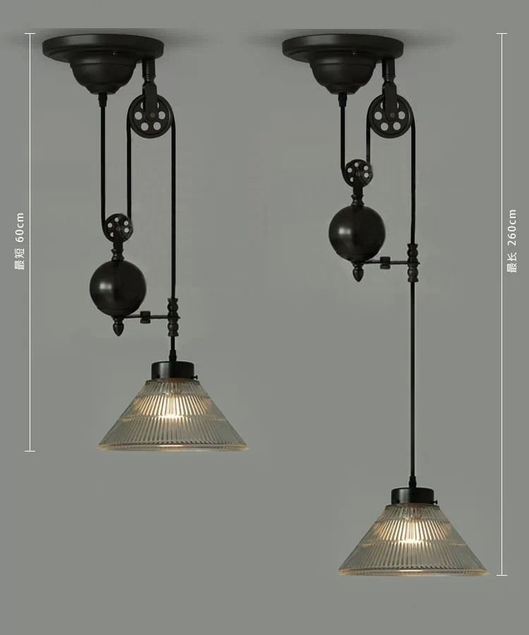 Industria Lighting | Nordic IKEA Criativo Minimalista Lustre De Vidro  Estilo Country .