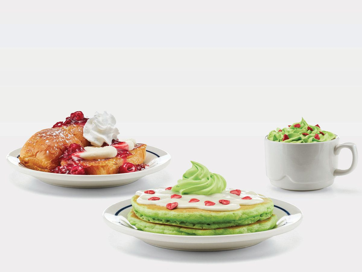 IHOP Adds Official \'Grinch\' Menu Items for the Holidays in 2018 ...