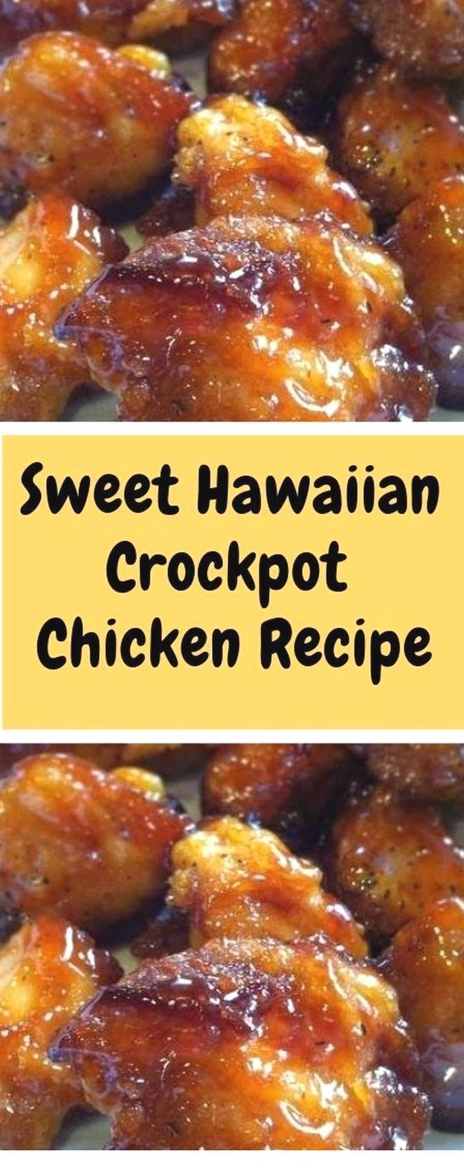Sweet Hawaiian Crockpot Chicken Recipe | Chicken Recipes - #Chicken #Crockpot #Hawaiian #recipe #recipes #Sweet #hawaiianfoodrecipes