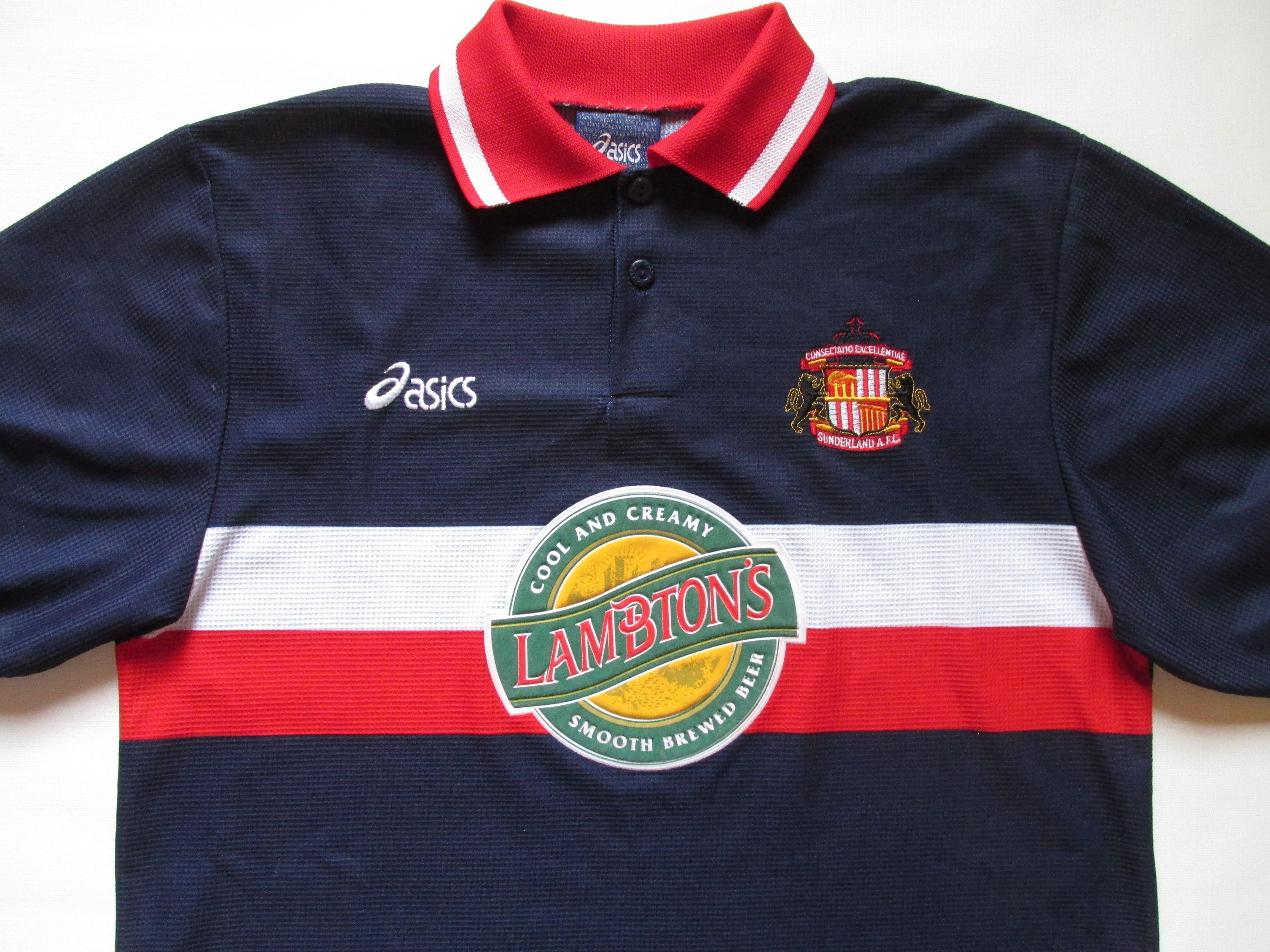 Sunderland 1998 1999 Third Football Shirt By Asics Safc England Soccer Jersey Vintage 90s Retro S Vintage Football Shirts England Soccer Jersey Soccer Jersey