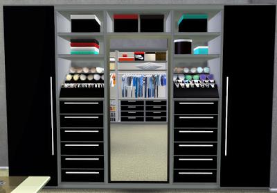 Nicol600 S Walk In Closet Recolor By Hypersimsitive Walk In Closet Best Sims Recolor