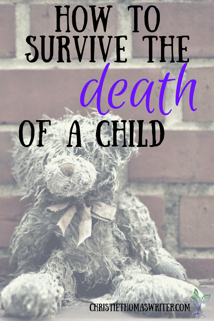 A mom shares about her only comfort in life and death. via @cthomaswriter