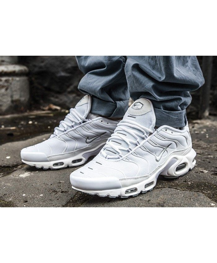 Nike Air Max Plus Tn Ultra All White Trainers  8a4c3c346