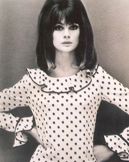 I have this dress I swear - it is an Ossie Clark and Anna Sui made the exact same dress 30+ years later and I bought it and it is one of my favorites.  Such a Jean dress
