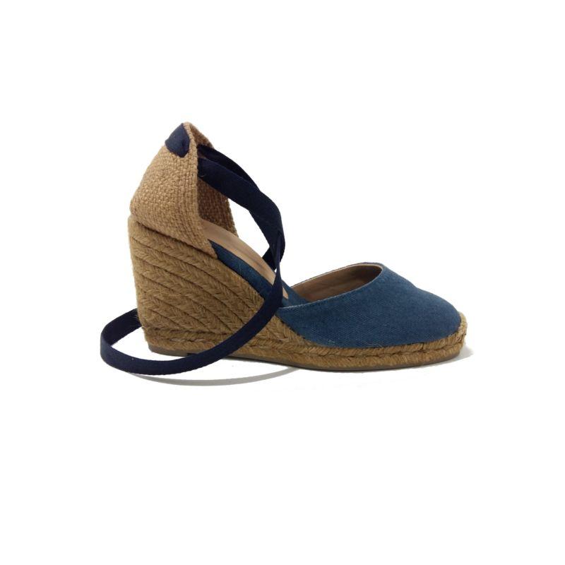 ba4df0dd6c0775 ESPADRILLES Compensées CASTANER Carina 8 Jeans. Espadrilles Marque CASTANER  femme. Chaussures femme compensées en
