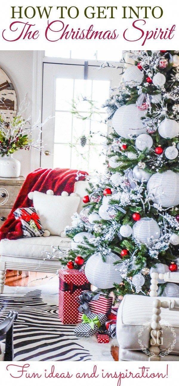 GET IN THE CHRISTMAS SPIRIT EARLY. Easy and fun ways to be merry and bright. #christmas #christmasspirit #christmashome