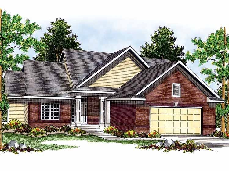 Eplans Split Level House Plan Charming To The Eye 1898 Square Feet And 3 Bedrooms From Eplans Split Level House Plans Traditional House Plans House Plans