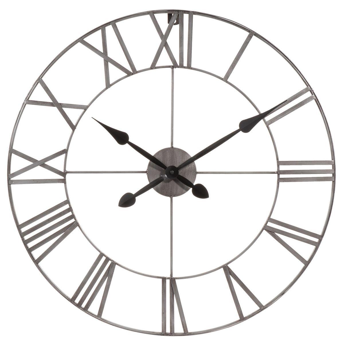 horloge en métal d 70 cm marshall deco bohême