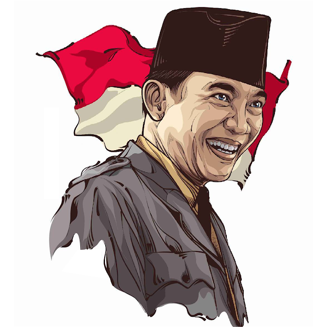 soekarno (Dengan gambar) Airbrush art, Tokoh sejarah