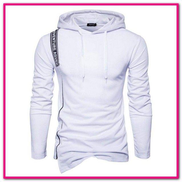 Oversized Pullover Herren Weiss | Oversize Pullover für