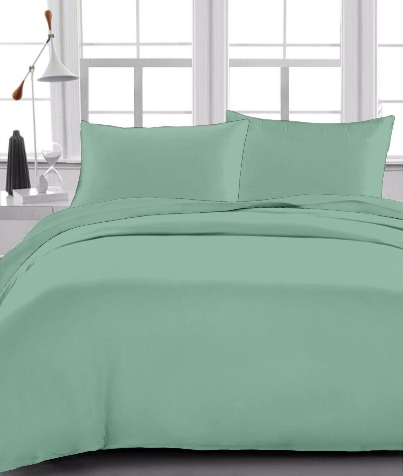 1 Qty Soft Ed Sheet 100 Egyptian Cotton 1000 Tc Drop 23 30 Moss Solid