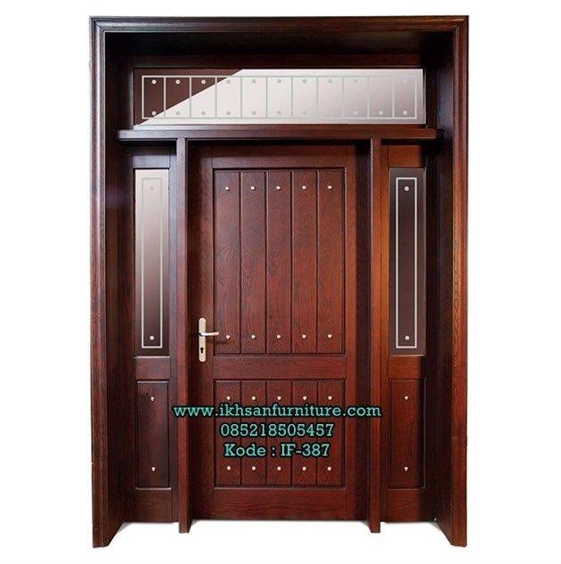 Model Pintu Rumah Minimalis Terbaru Kayu Jati Pintu