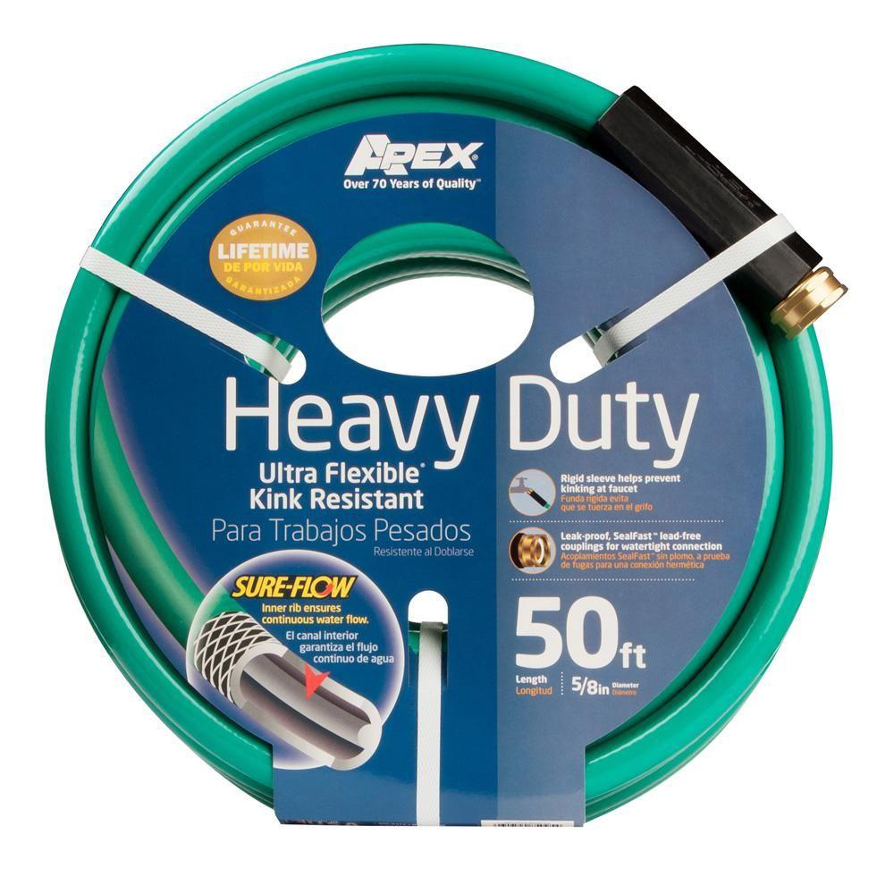 5/8 in. Dia x 50 ft. Heavy Duty Water Hose Garden hose