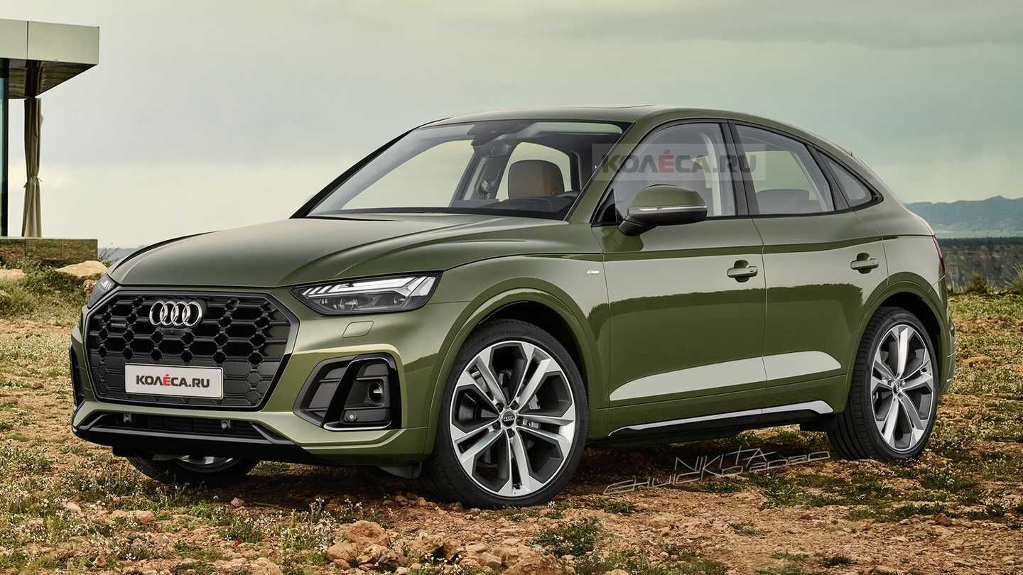 2021 Audi Q5 Sportback Rendering Based On 2021 Q5 Facelift In 2020 Audi Q5 Audi Suv Models