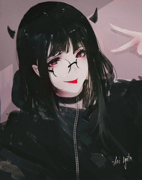 Anime Picture 821x1041 With Original Aoi Ogata Long Hair Single