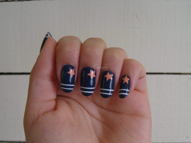 Mademoiselle Candy - Marine Nail Art | Nails and pedicure ...