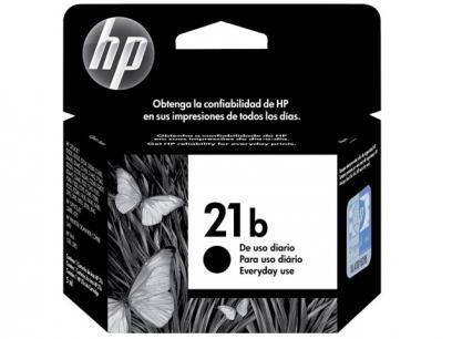Cartucho De Tinta Hp Preto 21 B Original Com As Melhores