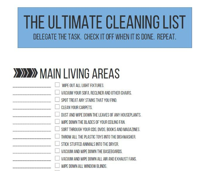 50 Things To Throw Away Cleaning List Deep Cleaning Tips