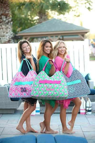 Personalized Large Beach Bag Oversized Pool Tote -