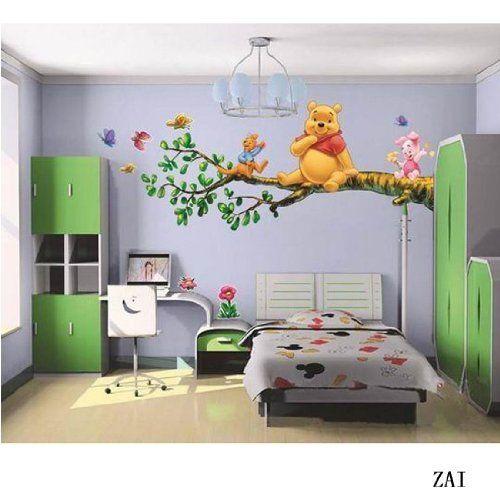 Pin de gabriela leiva en hogar en 2019 decoracion - Habitacion winnie the pooh ...